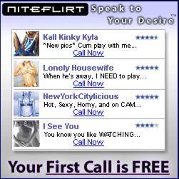 Niteflirt Phone Sex